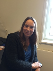 Doktorgradsstipendiat Nina Ommundsen ved Oslo universitetssykehus, Ullevål Foto: Hege Fantoft Andreassen, Kreftforeningen
