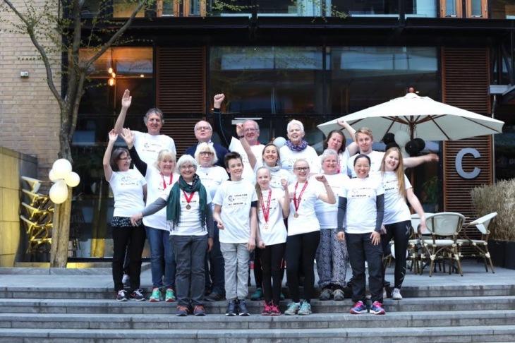 En fornøyd gjeng etter vel gjennomført Aktiv med NET-arrangement. Nå går stafettpinnen videre til Bergen! Foto: Tomy Hoang.