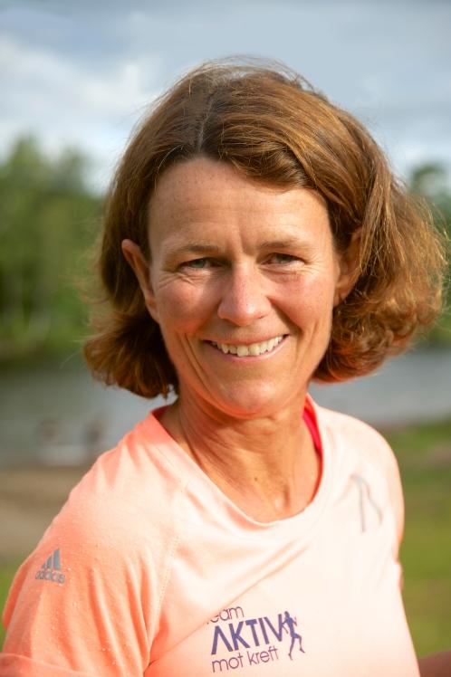 Helle Aanesen, daglig leder i Aktiv mot kreft. Foto: Aktiv mot kreft