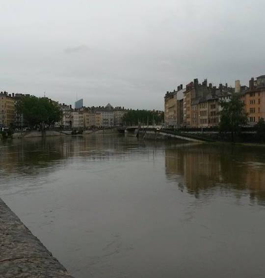 Lyon, hvor to elver møtes. Foto: Arne Ingvaldsen.