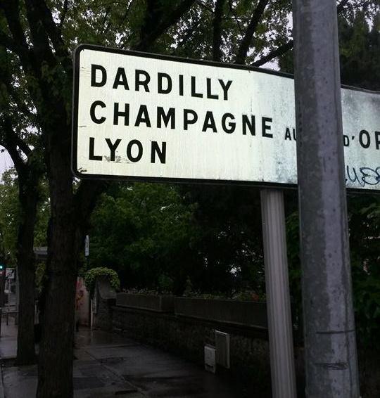 På vei til Lyon. Foto: Arne Ingvaldsen.