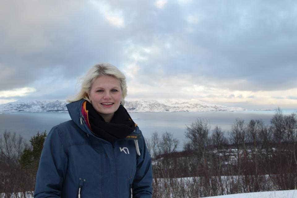 Jannike Ramsvik lever det gode liv i Bodø og på Landegode! Foto: Mari Sandvold.