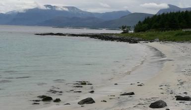 Kjerstadsanden på Lepsøya. Foto: Mari Sandvold.