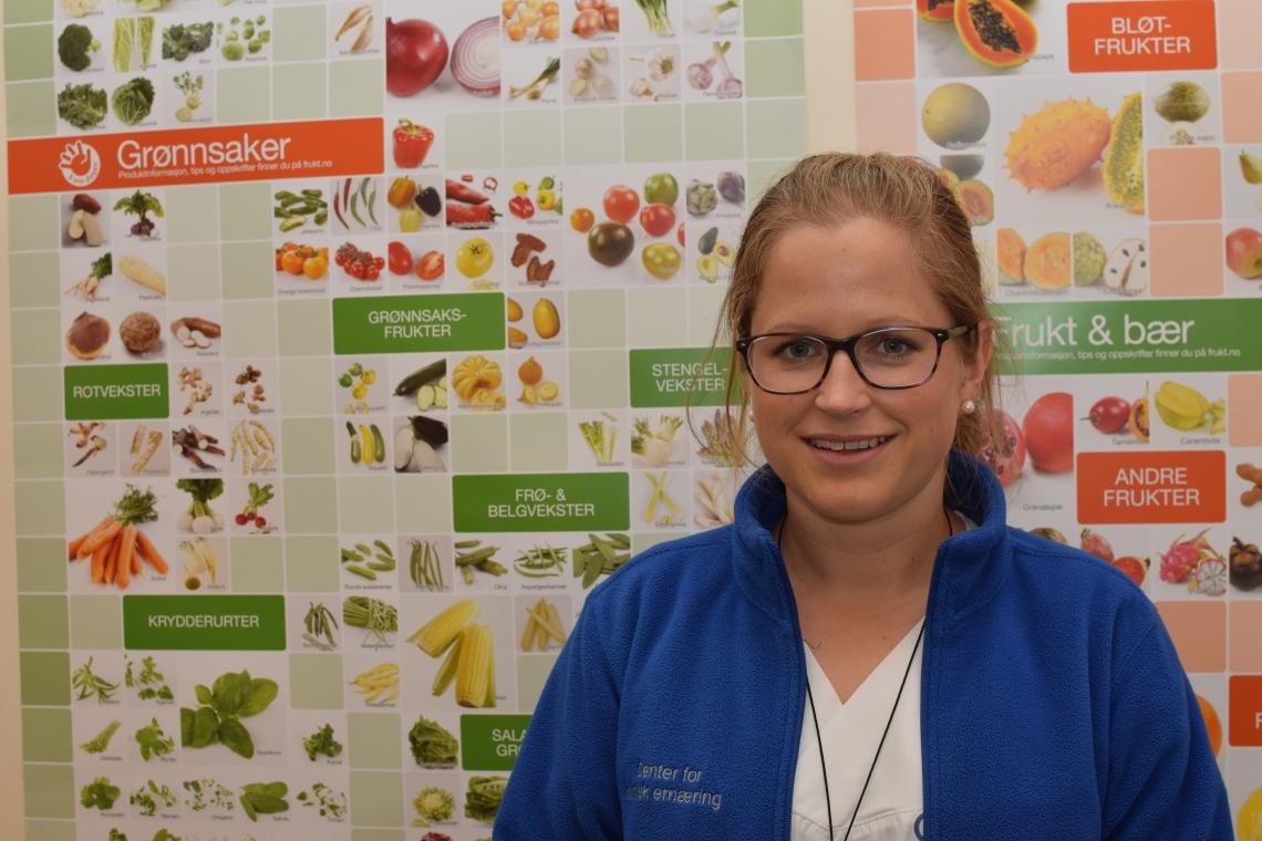 Elisabeth A. Høisæther, klinisk ernæringsfysiolog ved Rikshospitalet i Oslo. Foto: Mari Sandvold
