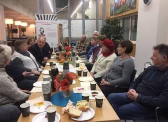 NET-kreft dagen i Bergen. Foto: Mona Fevang