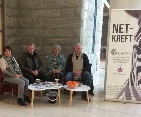 NET-kreft dagen i Bodø. Foto: Privat